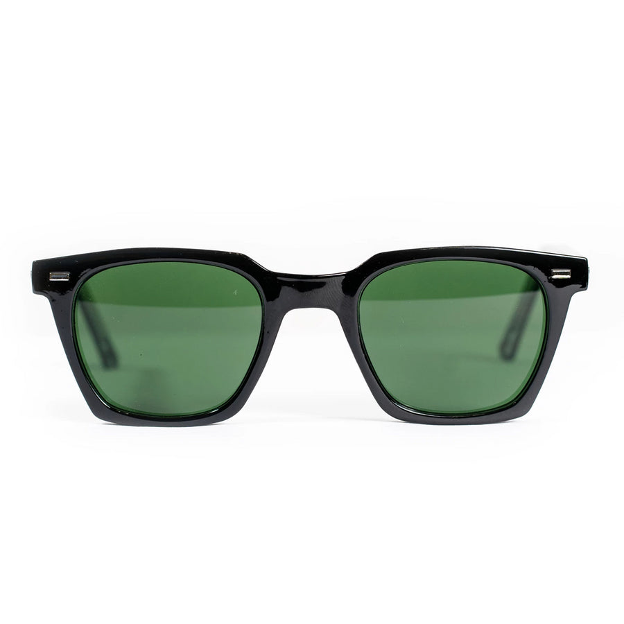 Spitfire Block Chain Sunglasses - Black/Green