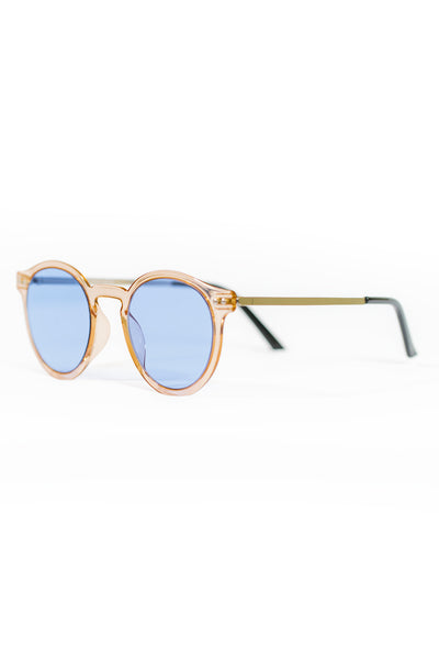 Spitfire British Summer Sunglasses - Tan/Blue