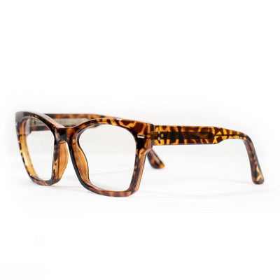 Spitfire Coco Sunglasses - Tortoise Shell/Clear
