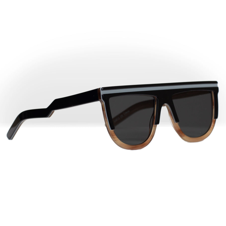 Spitfire (cut) two - Black / White / Brown / Black