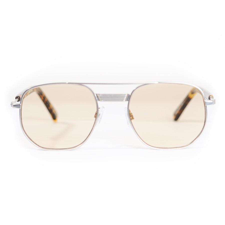 Spitfire Nailsea Sunglasses - Silver / Tan