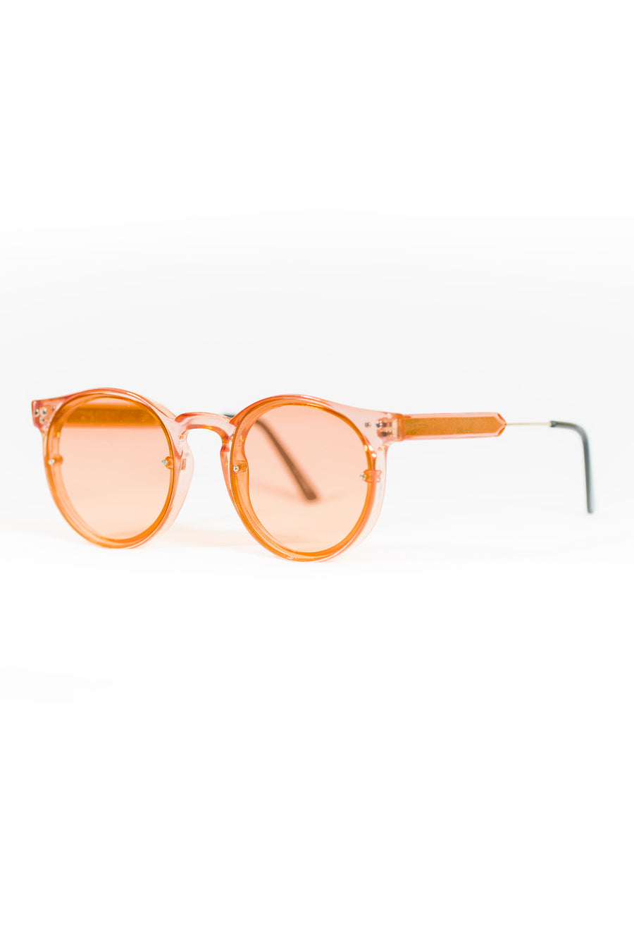 Spitfire Post Punk Sunglasses - Rose/Rose