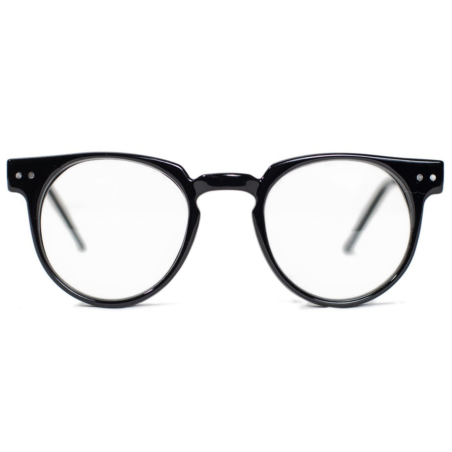 Spitfire Teddy Boy Sunglasses - Black/Clear