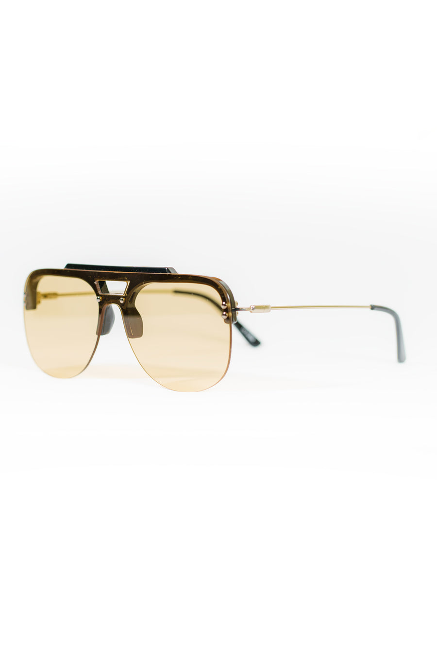 Spitfire Turbo Sunglasses - Black/Tan