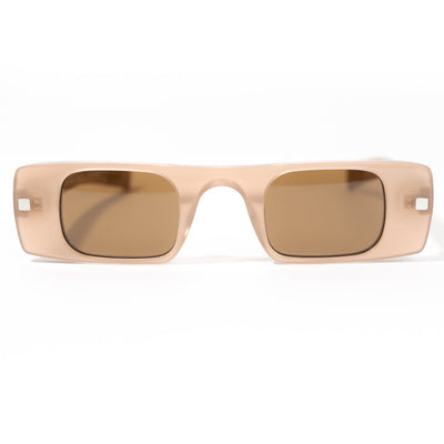 Spitfire Cut Seven Sunglasses - Nude/Brown