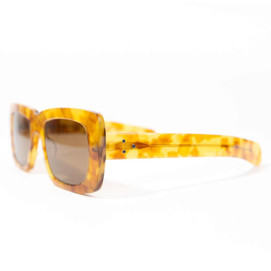Spitfire Cut Thirteen Sunglasses - Honey Tortoise Shell/Brown