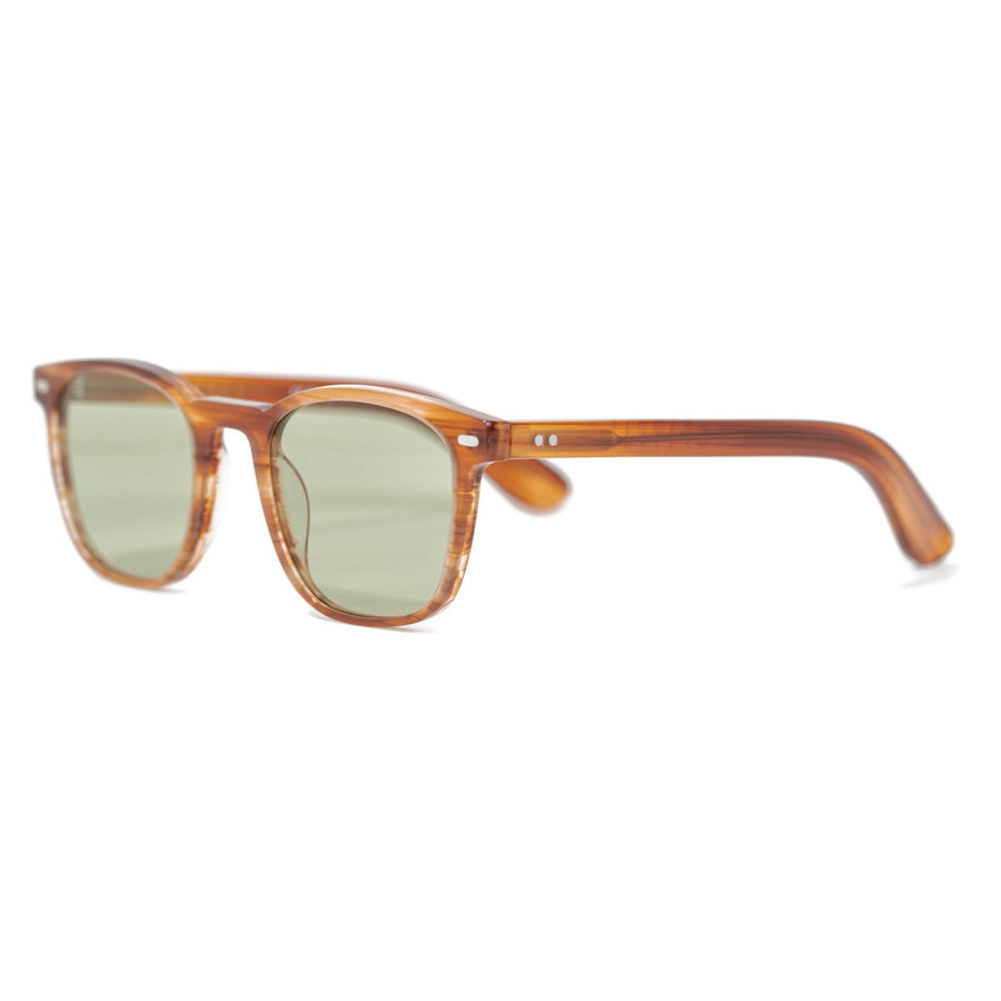 Spitfire Cut Twentyfour Sunglasses - Brushed Tortoise Shell/Green