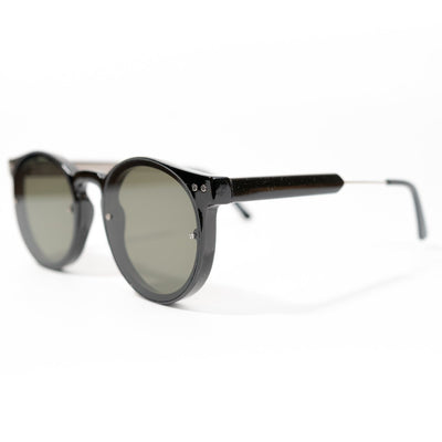 Spitfire Post Punk Sunglasses - Black/Black