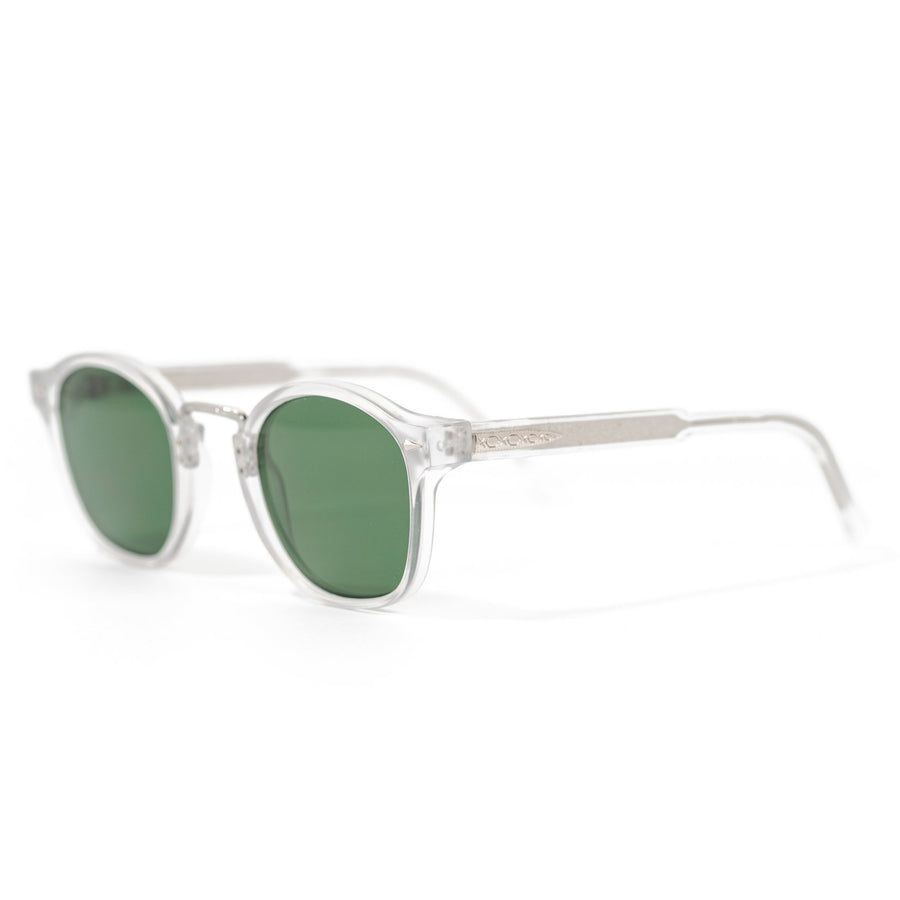 Spitfire VHX2 Sunglasses - Matte Clear/Green