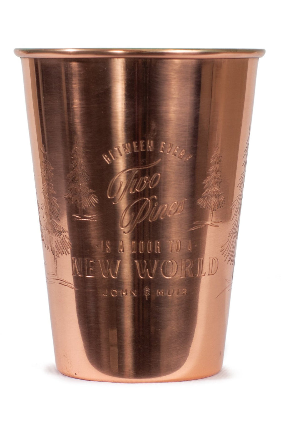 United By Blue 16 oz. Two Pines Copper Tumbler
