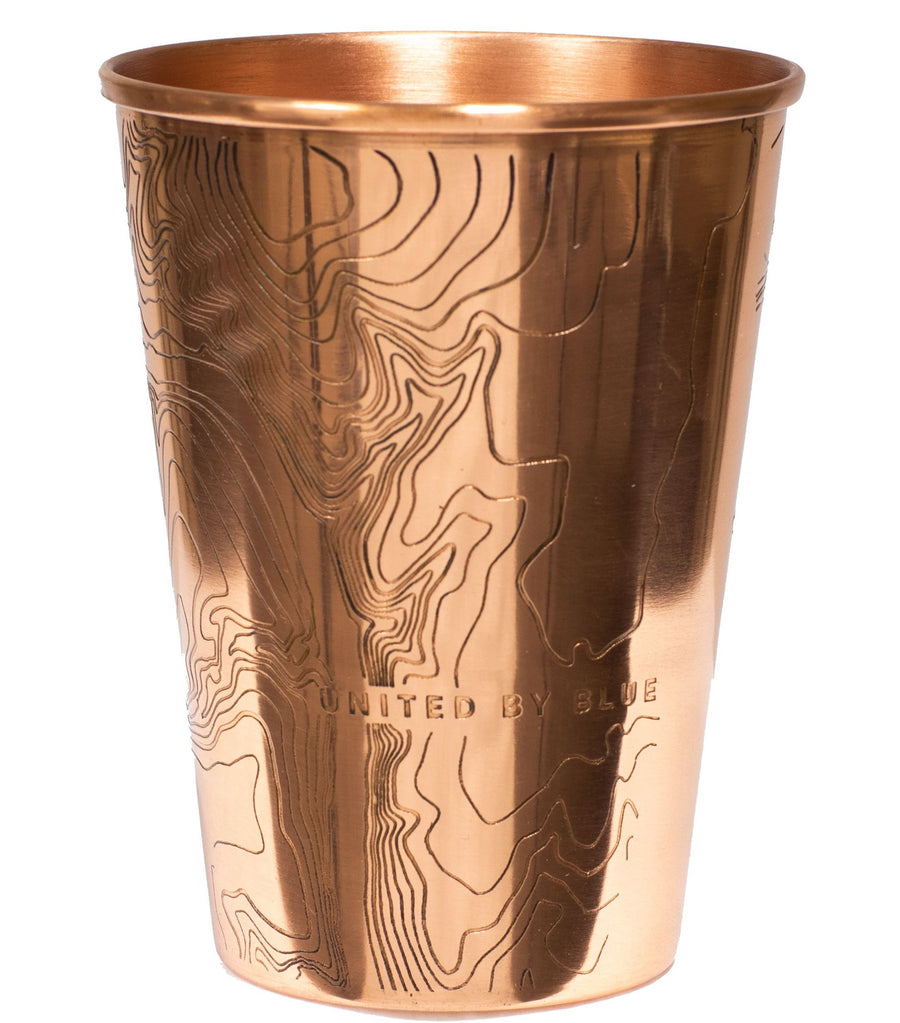 United By Blue 16 oz. Go Forth Copper Tumbler