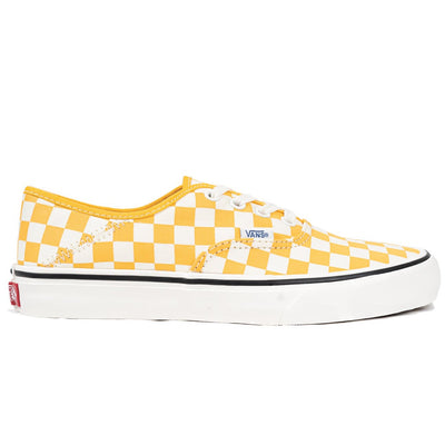 Vans Authentic SF - (Checkerboard) Cadmium Yellow/Marshmallow