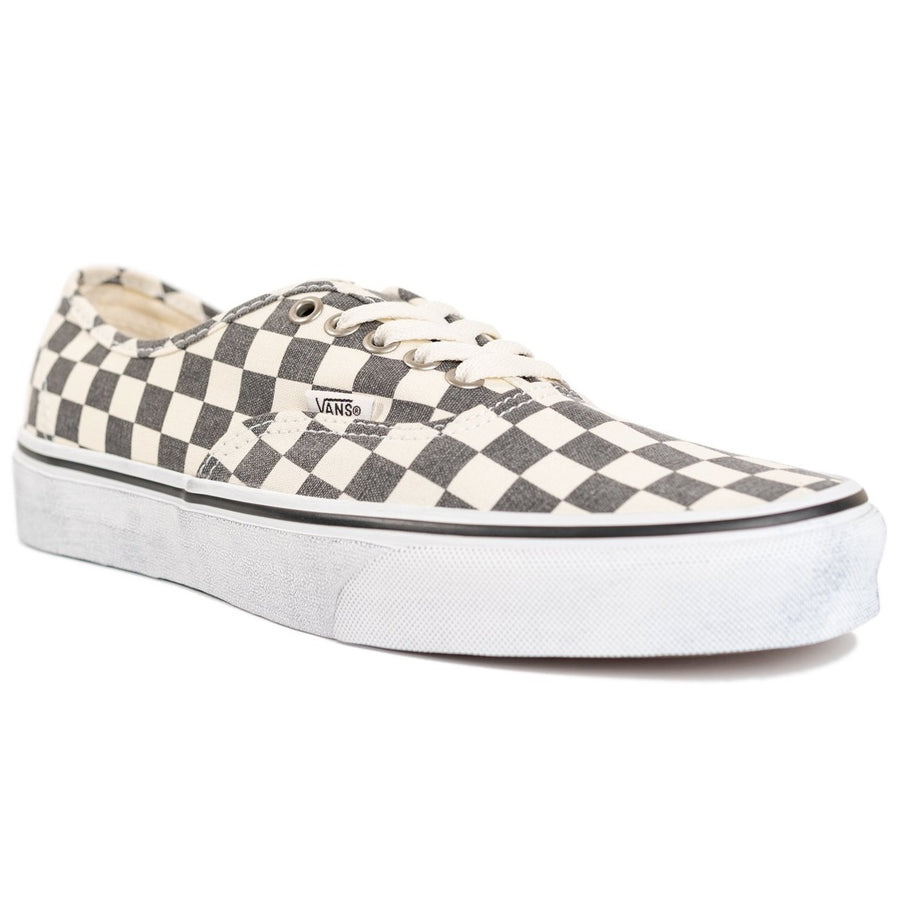 Vans Authentic - (Washed) Asphalt/True White