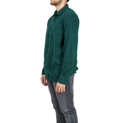 Vans Banfield III Long Sleeve Flannel - Trekking Green