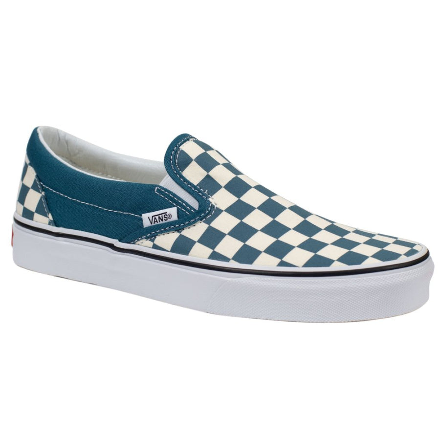 Vans Slip-on (Checkerboard) - Corsair/True White