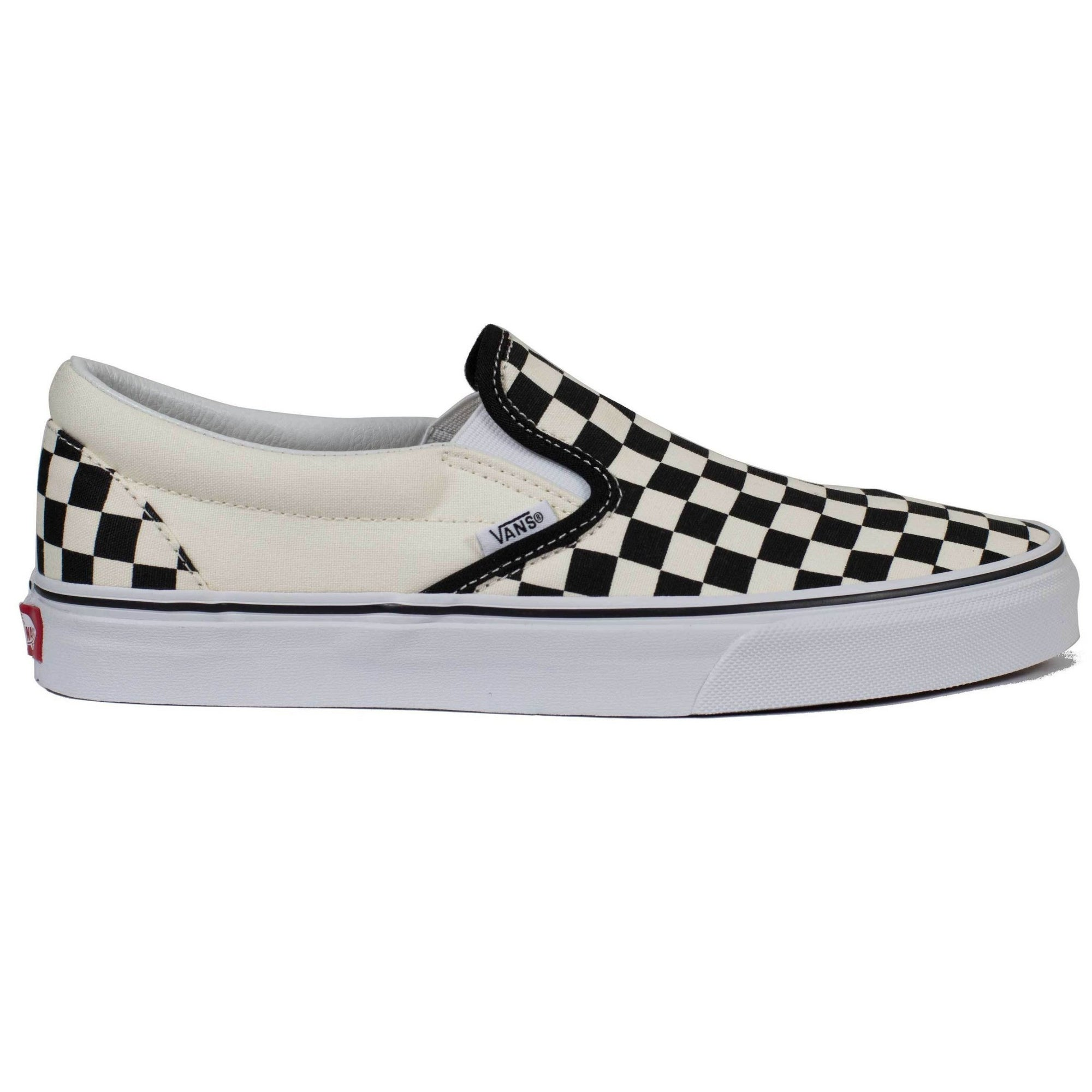 3a2d6682ea11 Vans Slip-on (Checkerboard) - Black Off White Check - Chane