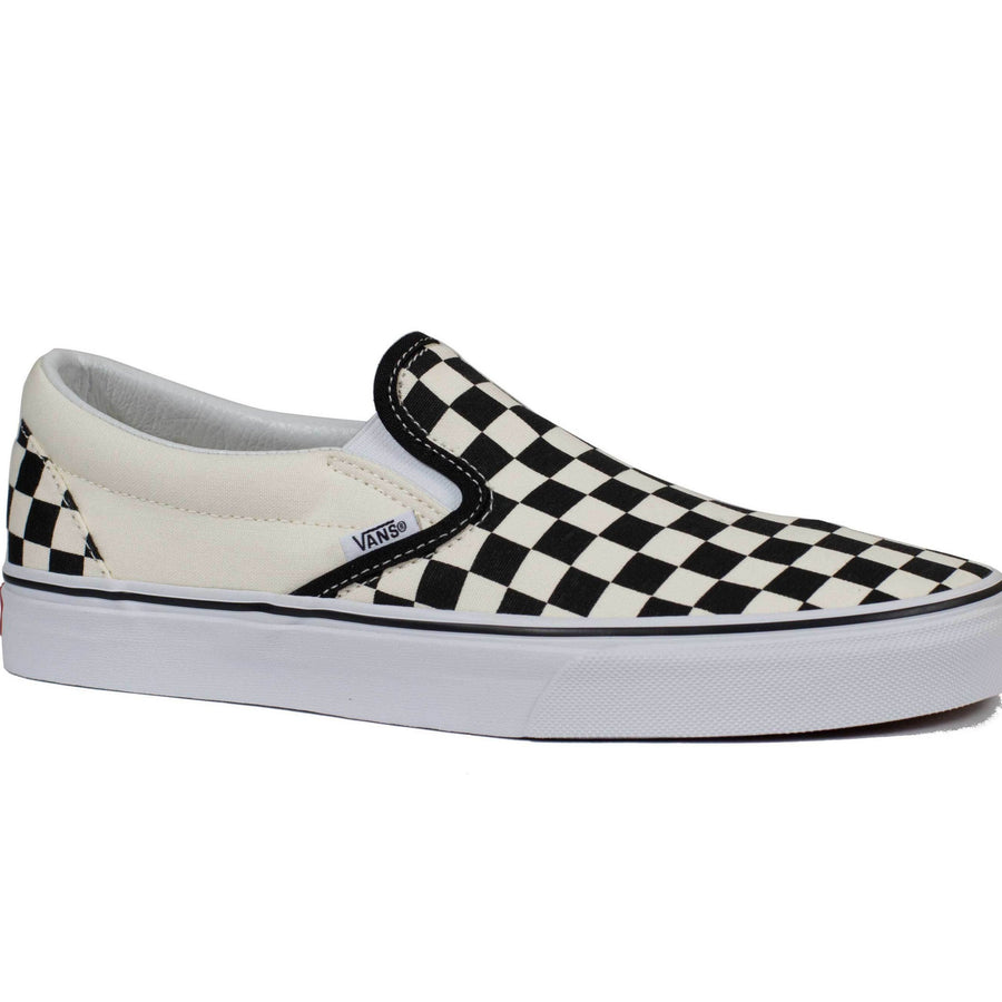 Vans Slip-on (Checkerboard) - Black/Off White Check