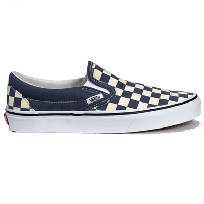 Vans Slip-on (Checkerboard) - Grisaille/True White