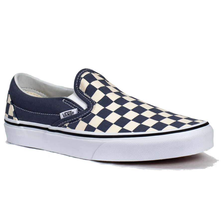 55abd16827 Vans Slip-on (Checkerboard) - Grisaille True White