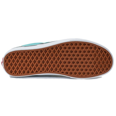 Vans Slip-on (Checkerboard) - Aqua Haze/True White
