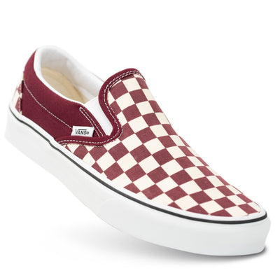 Vans Slip-on (Checkerboard) - Port Royal/True White