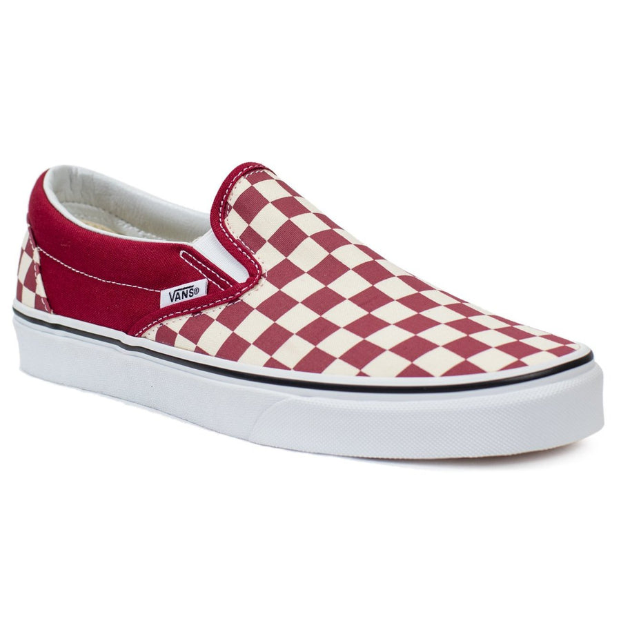 9486281d09 Vans Slip-on (Checkerboard) - Rumba Red True White