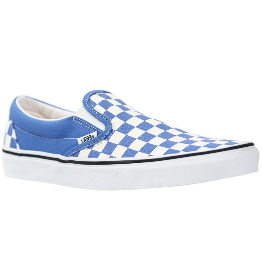 Vans Slip-on (Checkerboard) - Ultramarine/True White
