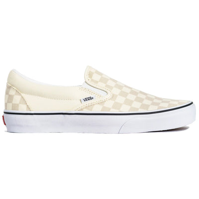 Vans Slip-on (Checkerboard) - Classic White/True White