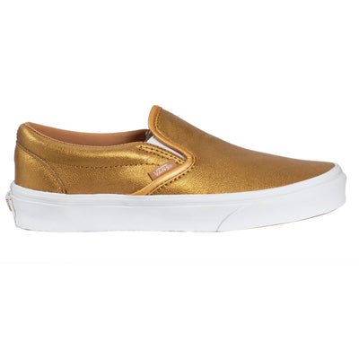 Vans Slip-on (Metallic) - Bronze/True White