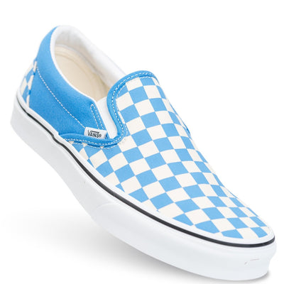 Vans Slip-on (Checkerboard) - Nebulas Blue/True White