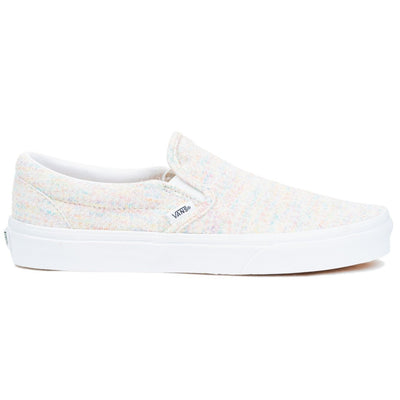 Vans Classic Slip-On - (Jersey) Rainbow/True White