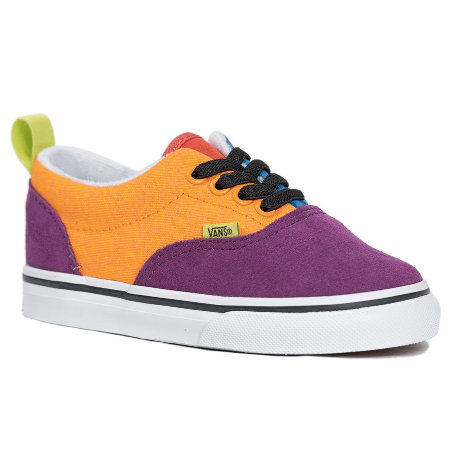 Vans Era Elastic Lace - (Mix & Match) Grape Juice/Bright Marigold