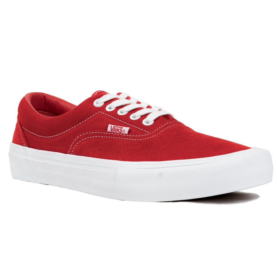 Vans Era Pro - (Suede) Red/White
