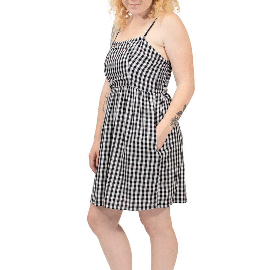 Vans Gingham Dress - Black Gingham