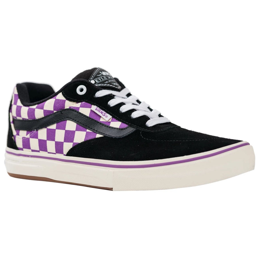 Vans Kyle Walker Pro - (Checkerboard) Black/Dewberry
