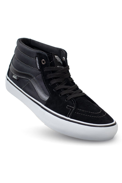 Vans x Anti Hero SK8-Mid Pro - (Anti Hero) Grosso/Black