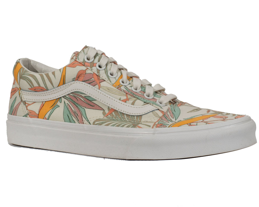 Vans Old Skool - (Califonia Floral) Marshmallow/Marshmallow