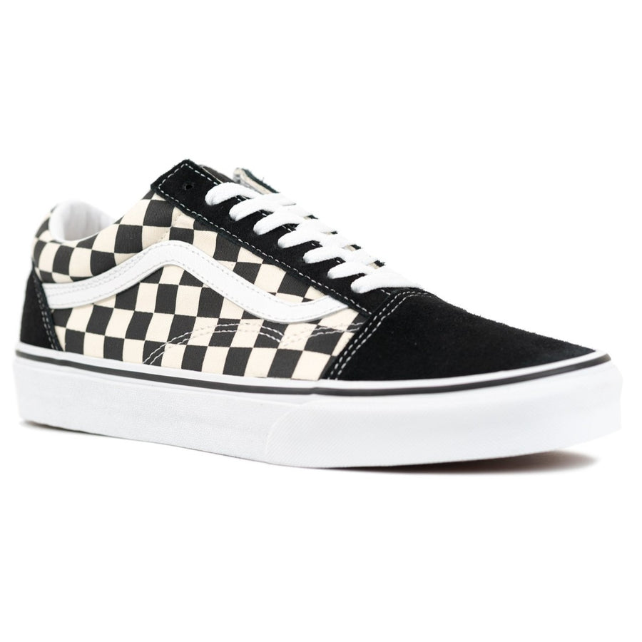 Vans Old Skool - (Primary Check) Black/White