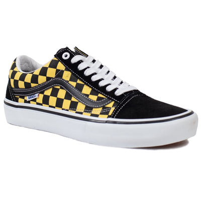 Vans Old Skool Pro - (Checker) Black/Aspen Gold