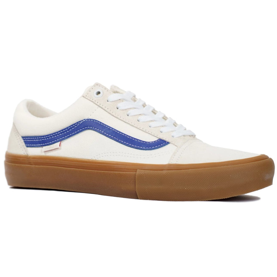 Vans Old Skool Pro - Marshmallow/Blue/Gum
