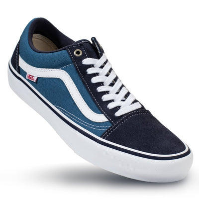 1a236cb1f61e Vans Old Skool Pro - Navy Stv Navy White - Chane