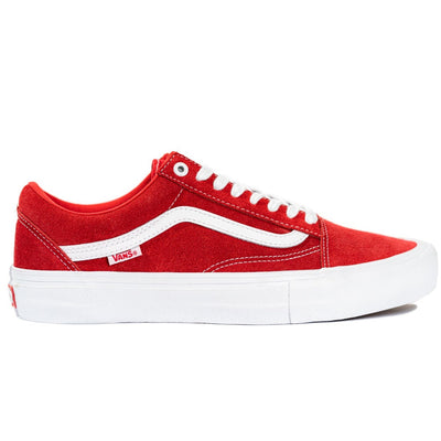 Vans Old Skool Pro - Red/True White