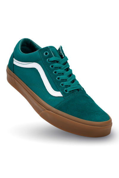 Vans Old Skool - Quetzal Green/Gum