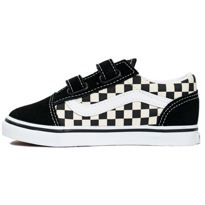 Vans Old Skool V - (Primary Check) Black/White