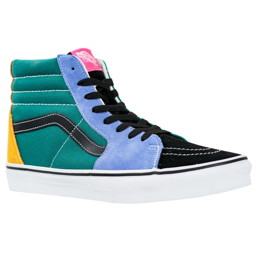 Vans Sk8-Hi - (Mix & Match) Cadmium Yellow/Tidepool