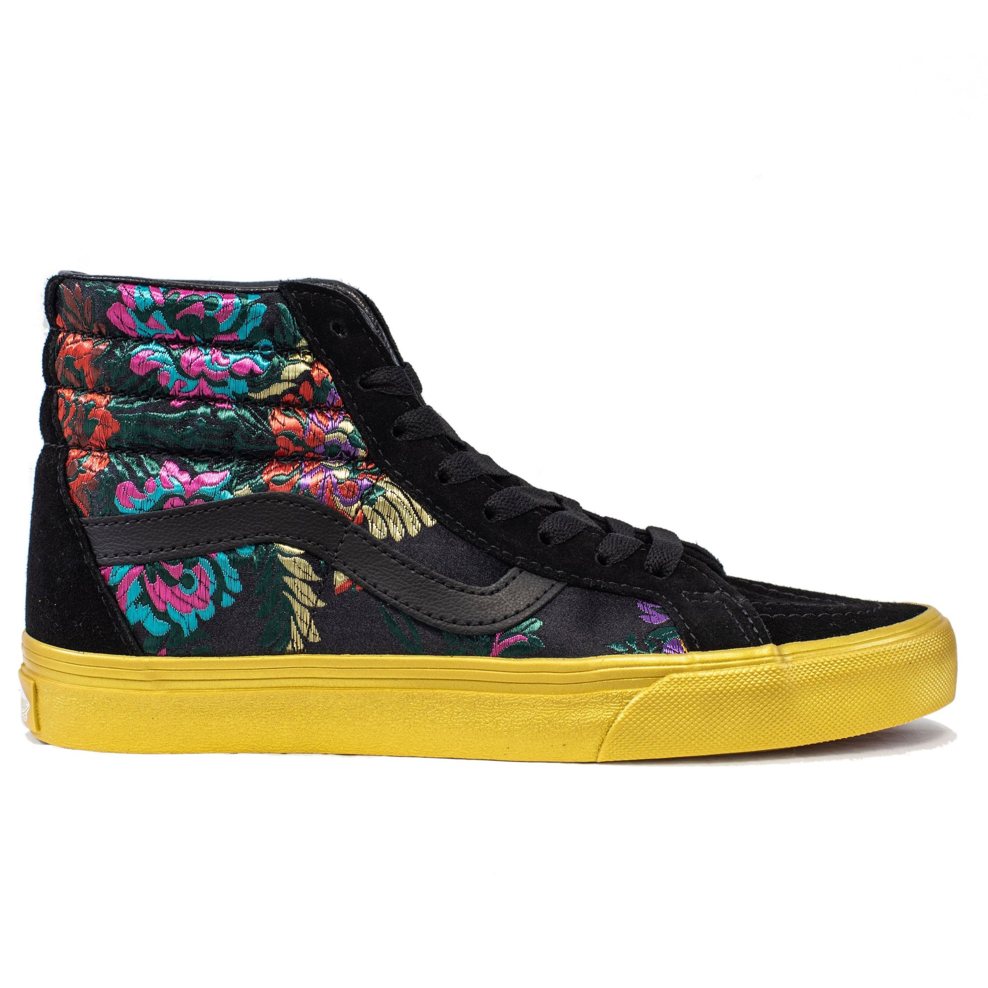 ab474500a91 Vans SK8-Hi Reissue - (Festival Satin) Black Gold - Chane