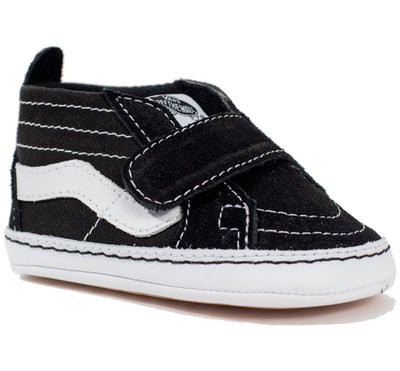 Vans Sk8-Hi Crib - Black/True White