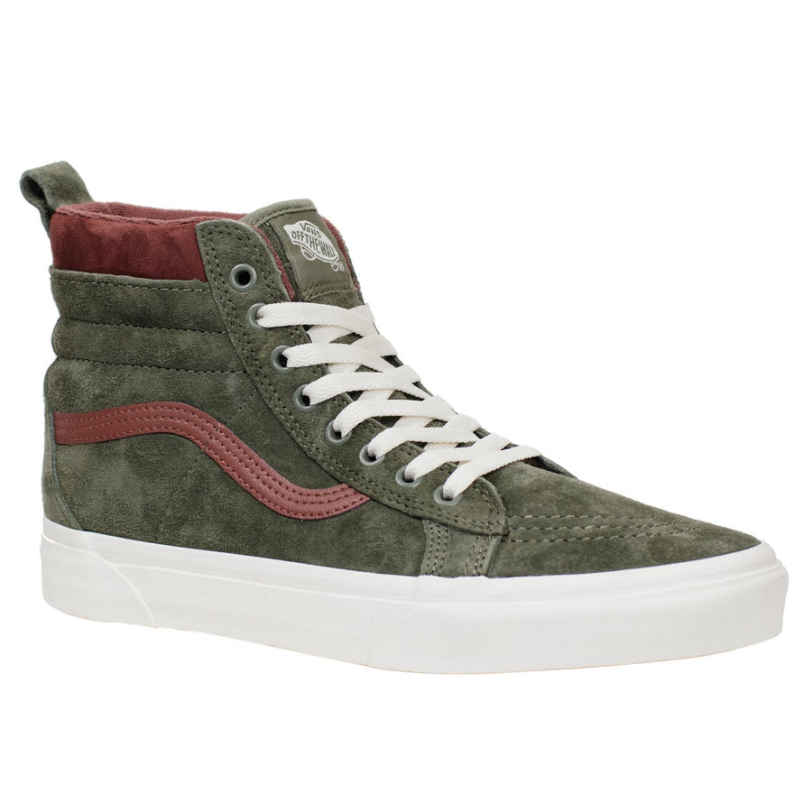 Vans Sk8-Hi (MTE) - Deep Lichen Green/Root Beer