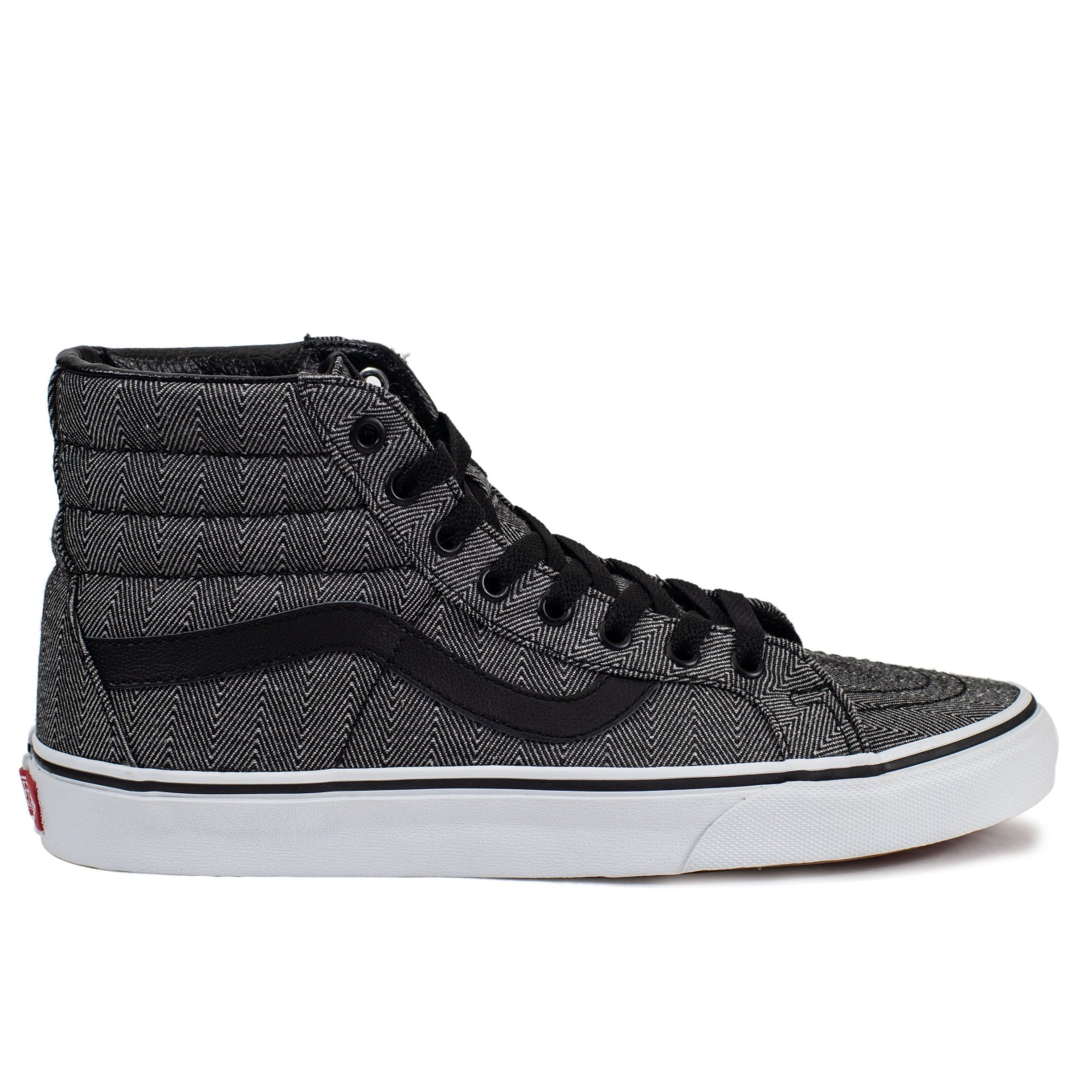 2df2f1e99e2 Vans Sk8-Hi Reissue - (Oversized Herringbone) Black True White - Chane