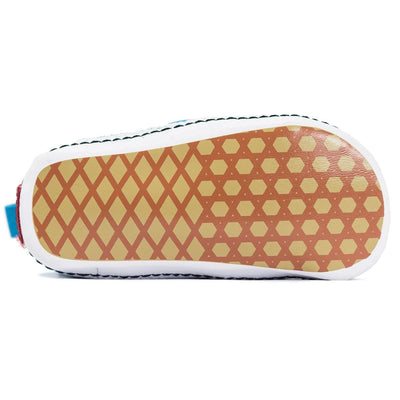 Vans Infant Slip-On V Crib - (Checkerboard) Caribbean Blue/True White